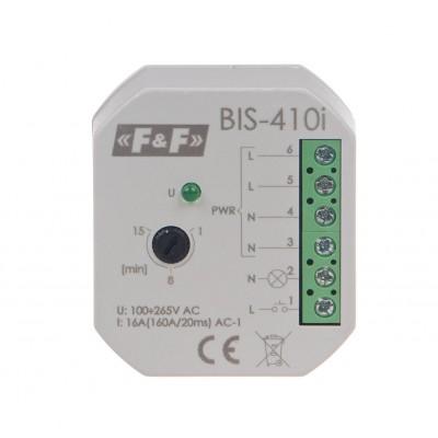 Bistabili relė ON/OFF, Un = 24V AC / DC, I = 16A, įėjimas (160A /20ms), kontaktas 1NC, tvirtinimo terminalas, 1 modulis - Ratechna.eu